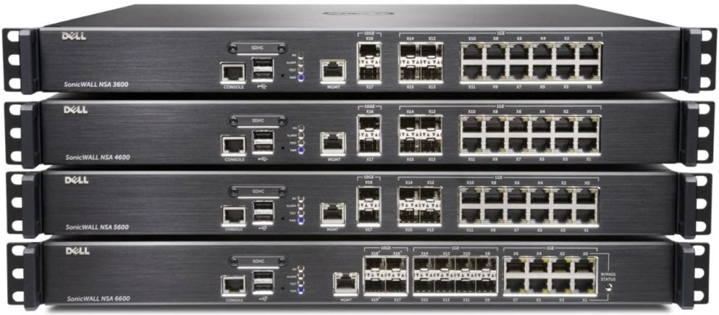 dell sonicwall next generation firewall nsa