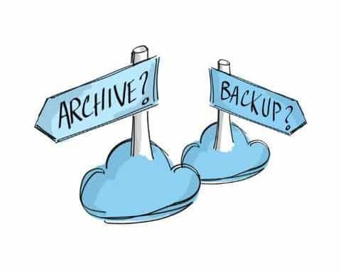 arquivamento de emails