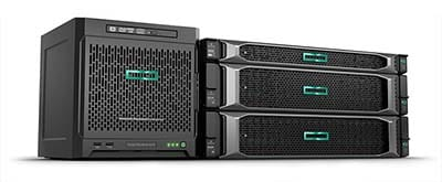 servidores hp enterprise rack
